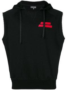Enter Nothing sleeveless hoodie Lanvin