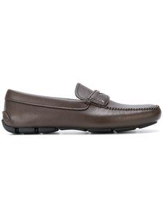 Saffiano driver loafers Prada
