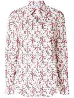 floral print shirt Prada