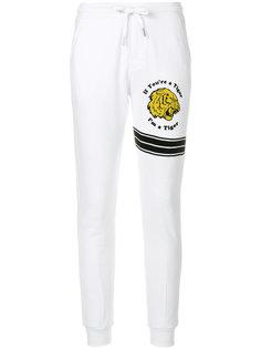 спортивные брюки с нашивкой Zoe Karssen