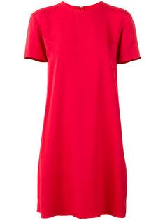 платье-шифт с короткими рукавами Valentino