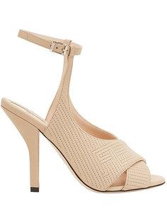 quilted high-heel sandals Fendi