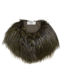 fur collar Fendi