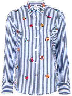 рубашка в полоску с вышивкой логотипа Ps By Paul Smith