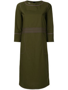 stitch detail shift dress Marni