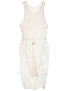 панельное трикотажное платье Uma Wang