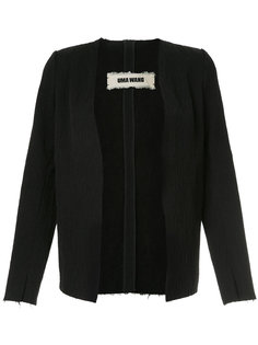 пиджак с V-образной горловиной Uma Wang