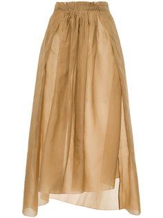 присборенная юбка  Uma Wang