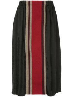 юбка в полоску  Uma Wang