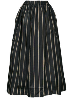 полосатая пышная юбка Uma Wang