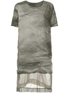 panelled longline T-shirt  Uma Wang