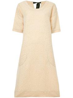 платье с короткими рукавами Uma Wang