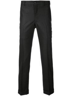 брюки строгого кроя с жаккардовым узором Comme Des Garçons Homme Plus