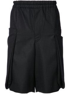 шорты строгого кроя с геометрическим узором Comme Des Garçons Homme Plus