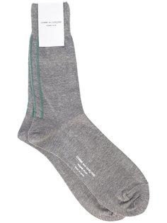 носки с полосатой отделкой Comme Des Garçons Homme Plus