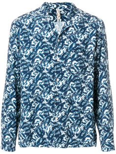 foliage print shirt Dnl