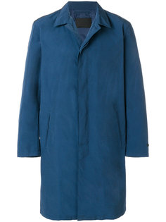 однобортное пальто Prada