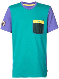 футболка в стиле колор-блок Adidas