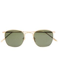 солнцезащитные очки 479 C15 в квадратной оправе Linda Farrow