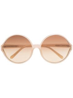 солнцезащитные очки 657 C8 в круглой оправе Linda Farrow