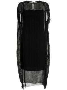 платье с сетчатым слоем 08Sircus