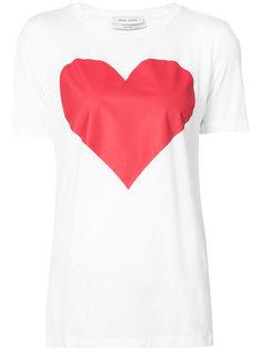 футболка с принтом в форме сердца Prabal Gurung