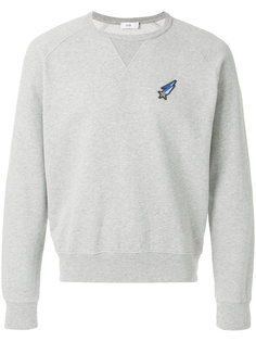 shooting star patch sweatshirt Closed
