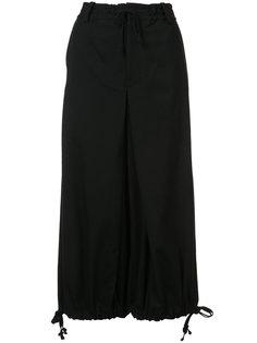 брюки-палаццо на завязках Ys Y`s