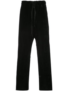 брюки свободного кроя Ann Demeulemeester