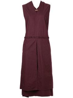 платье с V-образным вырезом Denson Nehera