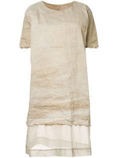 платье с панельным дизайном Uma Wang