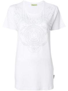 футболка с отделкой  Versace Jeans