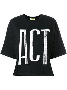футболка ACT Versace Jeans
