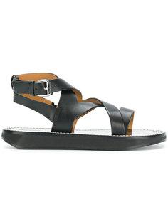 сандалии с ремешком крест-накрест Isabel Marant
