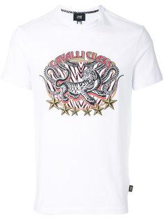 футболка с принтом тигра  Cavalli Class