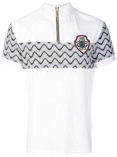футболка с молнией  Cavalli Class