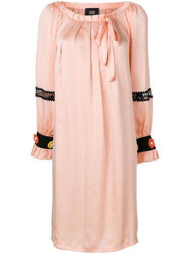 платье с открытыми плечами Cavalli Class