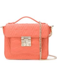 стеганая сумка-тоут с логотипом Versace Jeans