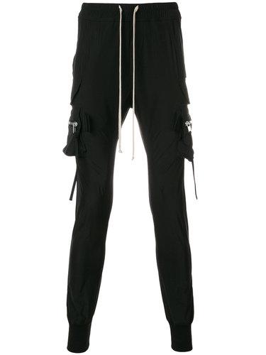 спортивные брюки-карго на шнурке Rick Owens