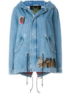 джинсовая куртка с капюшоном Mr & Mrs Italy