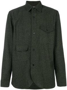 "твидовая рубашка в стиле ""милитари"" Han Kjøbenhavn"