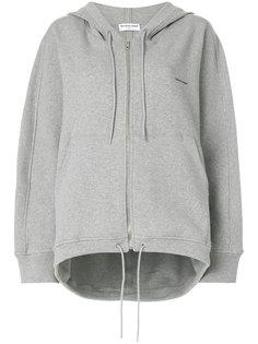 logo printed cocoon hoodie Balenciaga