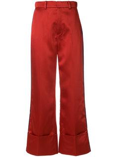 укороченные брюки  с завышенной талией Tommy Hilfiger