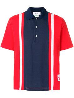 рубашка-поло в полоску MSGM