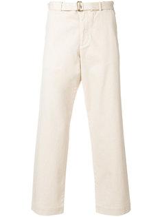 прямые укороченные брюки Barena