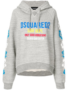 Only Good Vibrations logo hoodie Dsquared2