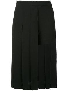 плиссированная юбка-шорты  Neil Barrett