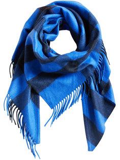 шарф с узором в клетку Burberry