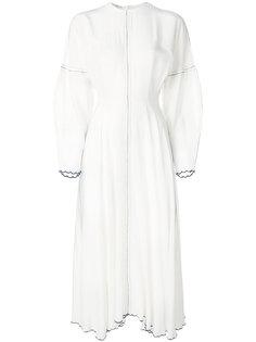 long-sleeved flared dress Natasha Zinko