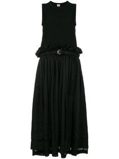 belted midi dress Comme Des Garçons Noir Kei Ninomiya